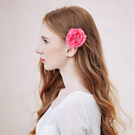 Women's Alloy/Fabric Headpiece - Wedding/Special Occasion/Casual Flowers 1 Piece