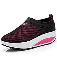 Femme Chaussures d'Athlétisme Confort Semelles Légères Tulle Printemps Eté Automne Extérieure Bureau & Travail Décontracté MarcheTalon