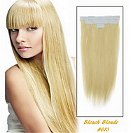 2.5g/pc 20pcs/pack 50g/lot PU Skin Weft Hair Extension