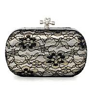 Handbag Matte Silk/Silk/Lace/Metal Evening Handbags/Clutches/Mini-Bags/Wallets & Accessories With Metal