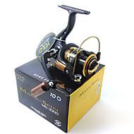 Molinetes de Pesca Molinetes Rotativos 5.1:1 10 Rolamentos TrocávelIsco de Arremesso / Pesca no Gelo / Rotação / Pesca de Água Doce /