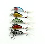 """5pcs יח ' כננת / פתיונות דיג כננת מבחר צבעים 4g g/1/6 אונקיה mm/1-3/4"""" אינץ ',פלסטיק קשיח דיג בים / דייג במים מתוקים / דיג בס"""