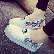 Women's Shoes  Flange Leisure Set Foot  Fabric Platform Comfort/Closed Toe Fashion Sneakers Outdoor/Casual