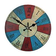 Style Creative Stylish Puerto Rico Decorative Mute Wall Clock