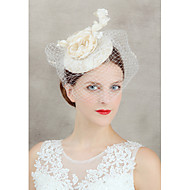 2015Women's Lace/Tulle Headpiece - Wedding/Special Occasion Fascinators 1 PieceHA5108