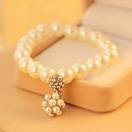 Bracciali Per donna Filo Perle finte Perle finte