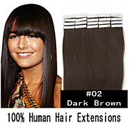 Cheaper Price 100% Natural Skin Weft PU Hair Extensions Straight Hair 50g/Pack