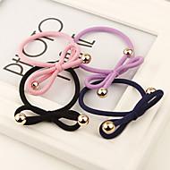 Women's Rubber Headpiece - Casual/Outdoor Simple Bow Hair Tie 1 Piece(Random Color)