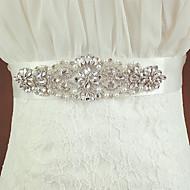 Fusciacca Fasce da donna Raso Matrimonio Con cristalli/Diamantini