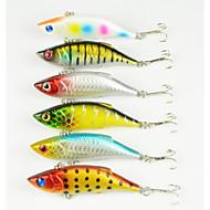 """6 יח ' פיתיון מתכת רטט פתיונות דיג פיתיון מתכת רעידה g/אונקיה mm/3-1/4"""" אינץ ',מתכת דיג בים דייג במים מתוקים דיג בפתיון"""