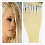 """3pcs / lot en vrac de cheveux cheveux vierges en vrac droite # 613 cheveux blonds en vrac 14-32 """"extensions de cheveux en vrac brésiliens"""