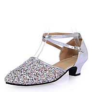 Zapatos de baile (Plata/Oro) - Danza latina - No Personalizable - Tacón bajo