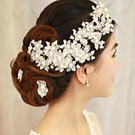 Vrouwen Imitatie Parel Helm-Bruiloft / Speciale gelegenheden Bloemen 1 Stuk