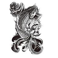 Séries Animal / Séries Totem / Outros - Brand New - Tatuagem Adesiva -Non Toxic / Estampado / Tamanho Grande / Tribal / Lombar /