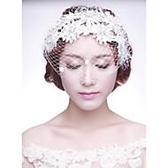 Women's Lace/Net Headpiece - Wedding/Special Occasion Birdcage Veils 1 Piece