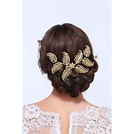 Pique cheveux Casque Mariage / Occasion spéciale / Casual Or / Alliage Femme Mariage / Occasion spéciale / Casual 1 Pièce