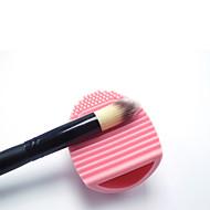Silikon handliche Make-up Pinsel Reinigungswerkzeug Bürste Eier