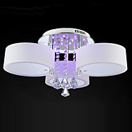Remote Control Flush Mount Crystal / LED Modern/Contemporary Living Room / Bedroom / Dining Room / Kids Room / Metal