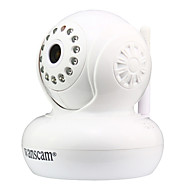 Wanscam® Wireless IP Surveillance H.264 720p HD P2P IP Camera(Two-way audio,Pan/Tilt)