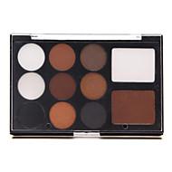 11 Eyeshadow Palette Shimmer Eyeshadow palette Pressed powder Normal Daily Makeup / Smokey Makeup