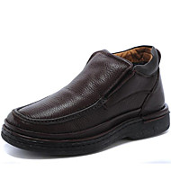 Men's Shoes Outdoor/Office & Career/Party & Evening/Casual Leather Boots Brown