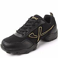 Sapatos de Dança ( Preto / Dourado ) - Homens - Não Personalizável - Moderno