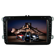 "8 ""2 DIN bil DVD spiller for 2007 til 2015 volkswagen / Sagitar / Magotan med bluetooth, gps, tv, fm, ipod"