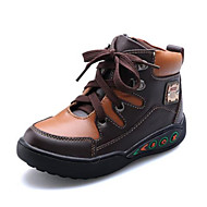 Boys' Shoes Casual Leather Boots Blue / Brown