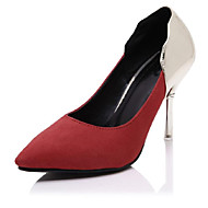 Women's Shoes  Stiletto Heel Heels / Pointed Toe Heels Outdoor / Casual Black / Red