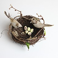 Small High Quality Spring Style Artificial Bird's Nest 1pc/set(Not Including Birds and Eggs)