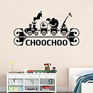 Wall Stickers Wall Decals Style Personality Creative Cartoon PVC Wall Stickers