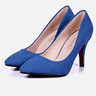 Women's Shoes Heels / Heels Wedding / Office & Career / Party  / DressBlack /New Autumn Big Yards Female Heel Shoes