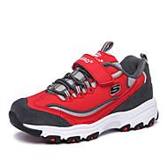 BOY - Comfort - Modieuze sneakers ( Zwart / Rood / Grijs