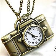 남성 회중 시계 목걸이 시계 석영 합금 밴드