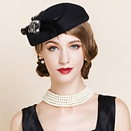 Women's Wool Headpiece - Wedding / Special Occasion / Casual / Outdoor Hats 1 Piece