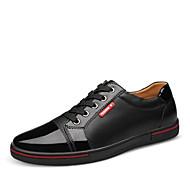 옥스퍼드 남자 신발 사무실 & 커리어 / 캐쥬얼 / 파티/이브닝 가죽 블랙 / 블루
