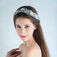 Women's Rhinestone / Organza / Net Headpiece - Wedding Headbands 1 Piece