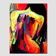 pintura a óleo figura de estilo moderno, material de lona, com quadro esticado pronto para pendurar tamanho: 60 * 90 centímetros.
