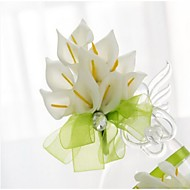 Small Size Green Calla Wedding/Party Boutonniere (8*10cm)