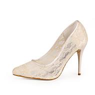 Women's Shoes Lace Stiletto Heel Heels Heels Office