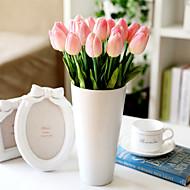 Table Decoration Flower Plastic Tulips Artificial Flowers(1PC)
