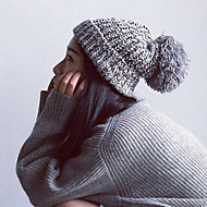 Women Knitwear Fashion Warm Beanie/Slouchy , Vintage / Casual Winter