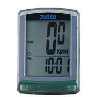 Computadores de Bicicleta ( DE PC / sintético , Cinzento ) -Impermeável / Ajustável / Sem Fio / AV - Velocidade Média / Max - Velocidade