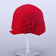 Women's Wool Headpiece-Wedding / Special Occasion / Casual / Office & Career / Outdoor Hats 1 Piece Head circumference  57cm