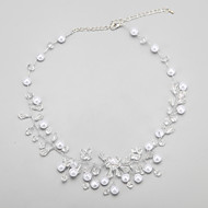 Women's Imitation Pearl / Alloy Necklace Wedding / Engagement / Birthday / Party Crystal / Imitation Pearl