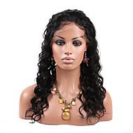 Doubleleafwig Curly Wave Unprocessed Virgin Brazilian Hair Full Lace Wig