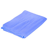 Multi-functional Absorbent Synthetic PVA Chamois Car Cleaning Towel Cloth - Blue