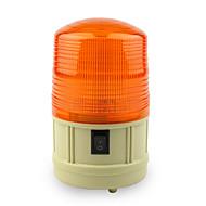 DearRoad Power Car School Bus Magnetic Warning Flash Beacon Strobe Emergency Light Red/Amber/Blue Install the Battery