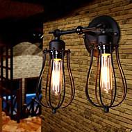 Seinälampetit LED Rustiikki Metalli