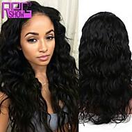 alta calidad de la onda del cuerpo 10-26inch densidad de 130% peruana peluca llena del cordón del pelo humano
